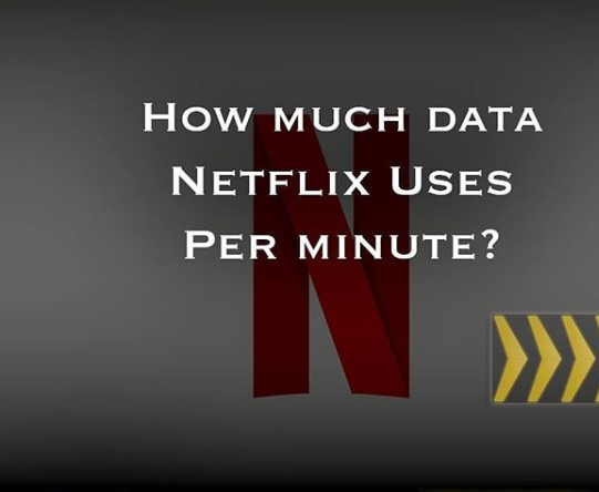 How much data does Netflix use