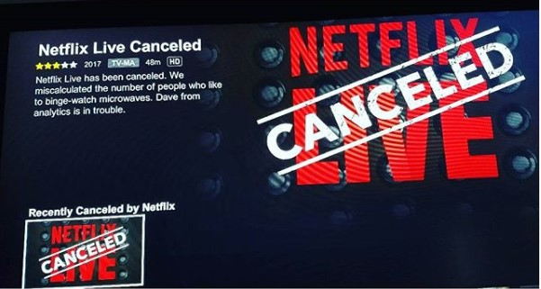 Netflix cancelled shows