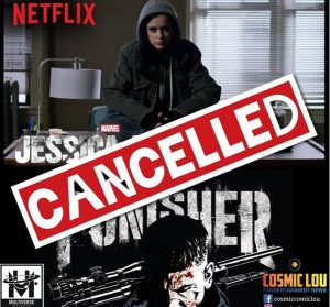 Shows cancelled by Netflix